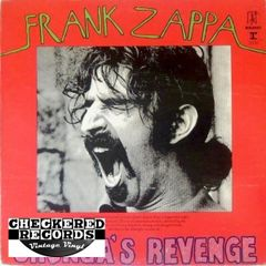 Frank Zappa ‎Chunga's Revenge First Year Pressing 1970 US Bizarre Records ‎MS 2030 Vintage Vinyl Record Album