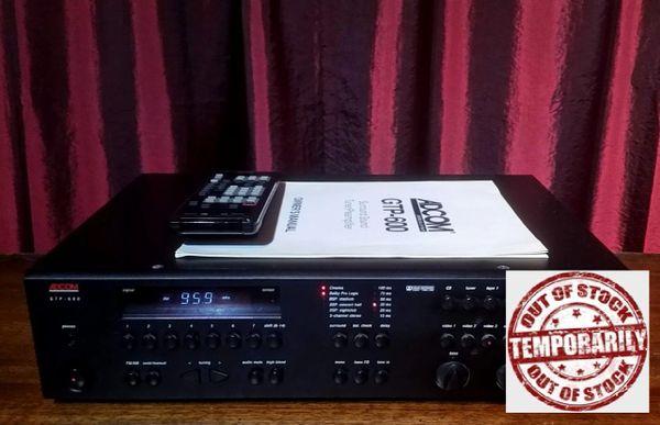 Vintage 1990 Adcom GTP-600 Surround Sound Tuner Pre-Amplifier
