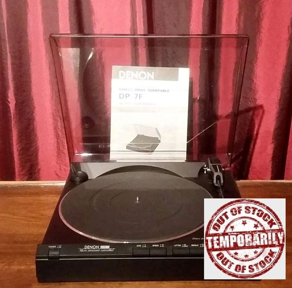 Denon DP-7F Fully-Automatic Direct-Drive Turntable