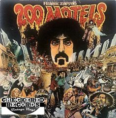Frank Zappa ‎200 Motels First Year Pressing 1971 US United Artists Records UAS 9956 Vintage Vinyl Record Album