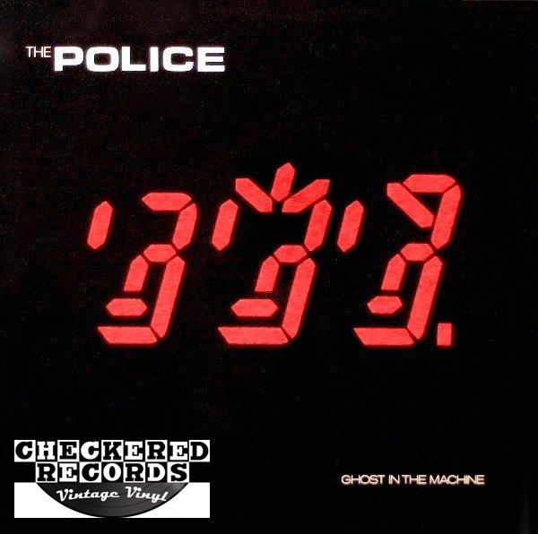 The Police Ghost in The Machine First Year Pressing 1981 US A&M SP-3730 1981 Vintage Vinyl Record Album