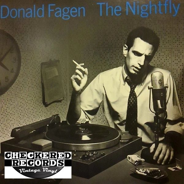 Donald Fagen The Nightfly First Year Pressing 1982 US Warner Bros. Records ‎1-23696 Vintage Vinyl Record Album