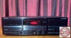 Kenwood KX-W4040 Stereo Dual Cassette Tape Deck