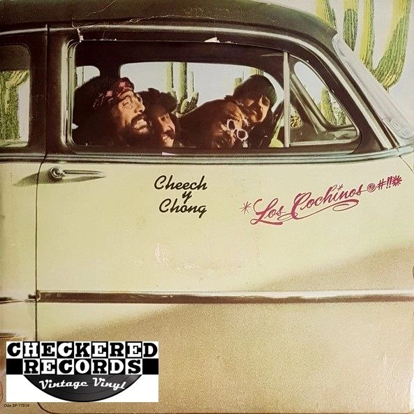 Cheech and Chong Cheech Y Chong Los Cochinos First Year Pressing 1973 US Ode Records SP 77019 Vintage Vinyl Record Album