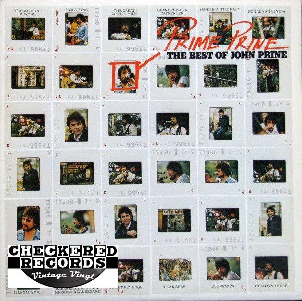 John Prine Prime Prine The Best Of John Prine First Year Pressing 1976 US Atlantic SD 18202 Vintage Vinyl Record Album