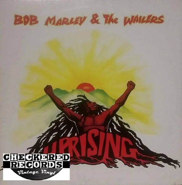 Bob Marley & The Wailers ‎Uprising First Year Pressing Jamaica 1980 Tuff Gong ‎Vintage Vinyl Record Album