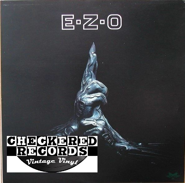 Vintage EZO EZO Self Titled First Year Pressing Geffen Records GHS 24143 US 1987 Vintage Vinyl LP Record Album