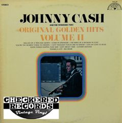 Johnny Cash And The Tennessee Two Original Golden Hits Volume II 1969 US SUN 101 Vintage Vinyl Record Album