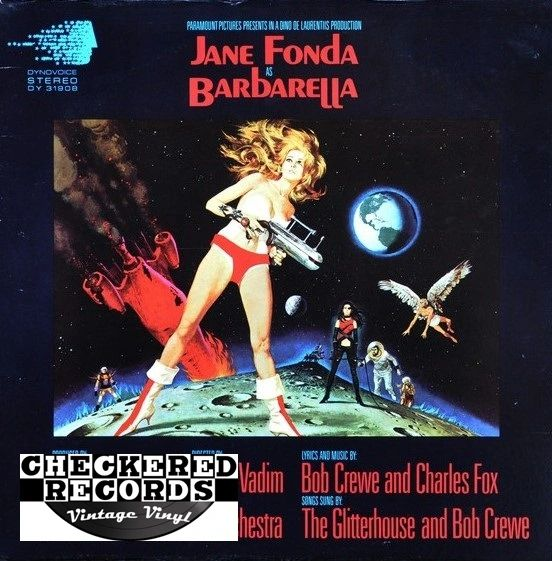 Barbarella Motion Picture Soundtrack The Bob Crewe Generation Orchestra First Year Pressing 1968 US Dynovoice Records ‎DY 31908 Vintage Vinyl Record Album