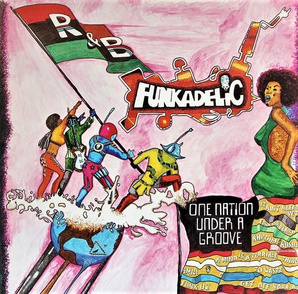 Funkadelic One Nation Under A Groove First Year Pressing 1978 US Warner Bros. Records ‎BSK 3209 Vintage Vinyl Record Album