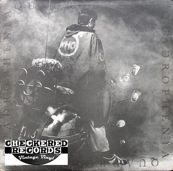 The Who Quadrophenia 1980 US MCA Records MCA2-6895 Vintage Vinyl Record Album