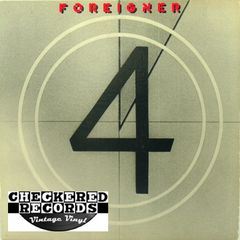 Foreigner ‎4 First Year Pressing 1981 US Atlantic SD 16999 Vintage Vinyl Record Album