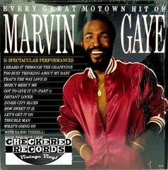 Marvin Gaye Every Great Motown Hit Of Marvin Gaye 1983 US Motown 6058 ML Vintage Vinyl Record Album