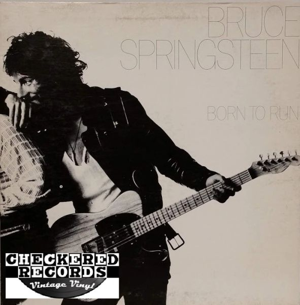 Bruce Springsteen Born To Run First Year Pressing 1975 PROMO US Columbia PC 33795 Vintage Vinyl Record Album