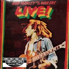 Bob Marley & The Wailers Live! First Year Pressing 1975 US Island Records ILPS 9376 Vintage Vinyl Record Album