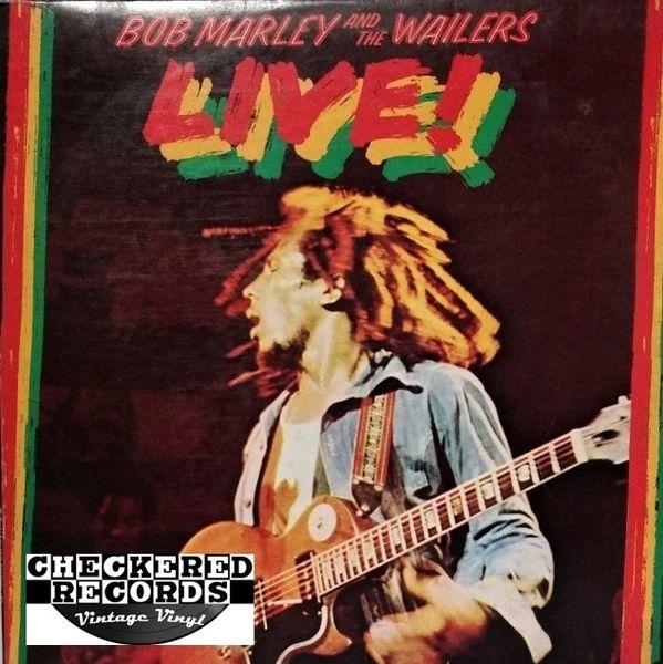 Bob Marley & The Wailers Live! 1986 US Island Records 90032-1 Vintage Vinyl Record Album