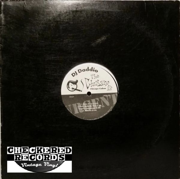 DJ Daddio ‎The Chubano EP First Year Pressing 1998 US Urgent Music Works ‎UMW-20 Vintage Vinyl Record Album