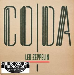 Led Zeppelin ‎Coda First Year Pressing 1982 US Swan Song ‎90051-1 Vintage Vinyl Record Album