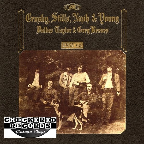 Crosby Stills Nash & Young Deja Vu 1977 US Atlantic SD 19118 Vintage Vinyl Record Album