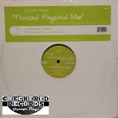 Louie Vega ‎Thousand Fingered Man First Year Pressing 2004 Vega Records ‎VR009 Vintage Vinyl Record Album