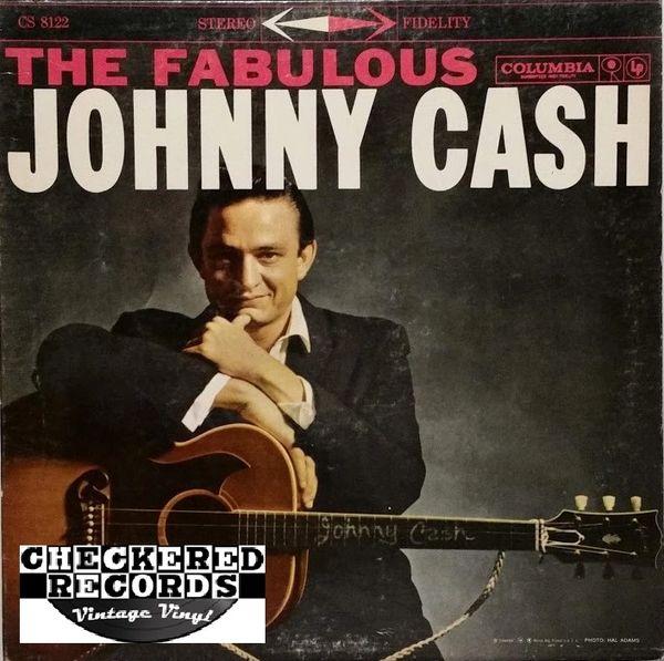 Johnny Cash The Fabulous Johnny Cash 1962 US Columbia CS 8122 Vintage Vinyl Record Album