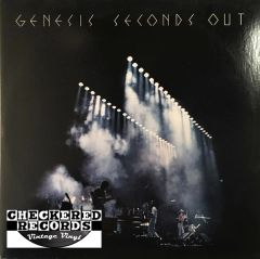 Genesis Seconds Out First Year Pressing 1977 US Atlantic ‎SD 2-9002 Vintage Vinyl Record Album