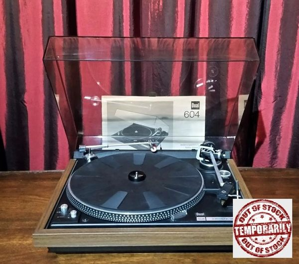 Vintage 1977 Dual CS 604 Electronic Direct Drive Turntable