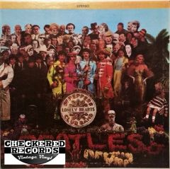 The Beatles Sgt. Pepper's Lonely Hearts Club Band First Year Pressing 1967 US Capitol Records S‎MAS 2653 Vintage Vinyl Record Album