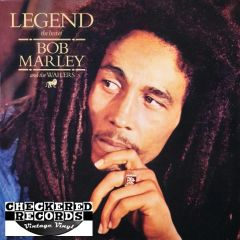 Bob Marley & The Wailers Legend First Year Pressing 1984 US Island Records 90169-1 Vintage Vinyl Record Album
