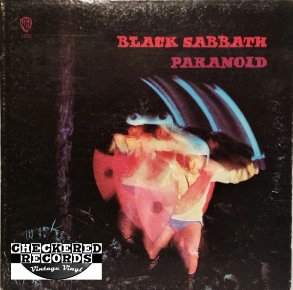 Black Sabbath Paranoid 1978 US Warner Bros. Records BSK 3104 Vintage Vinyl Record Album