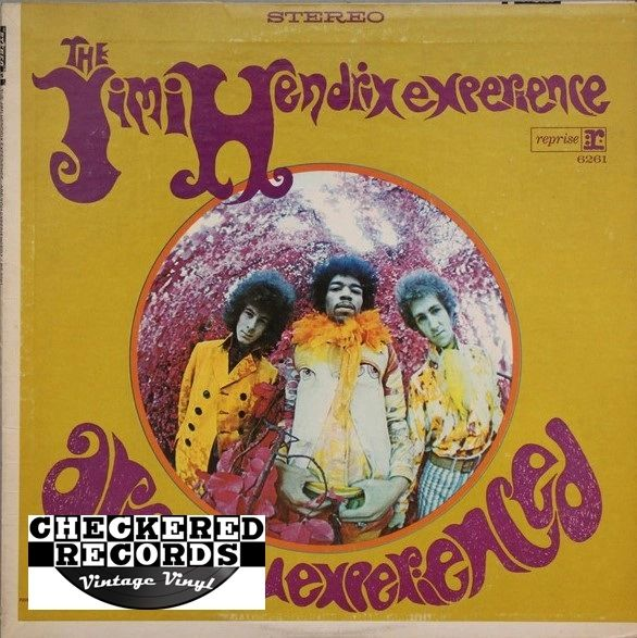 The Jimi Hendrix Experience Are You Experienced 1968 US Reprise Records RS 6261 Vintage Vinyl Record Album