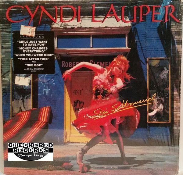 Cyndi Lauper She's So Unusual First Year Pressing 1983 US Portrait FR 38930 Vintage Vinyl Record Album