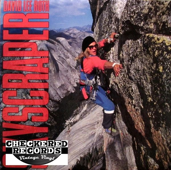 David Lee Roth Skyscraper First Year Pressing 1988 US Warner Bros. Records 1-25671 Vintage Vinyl Record Album