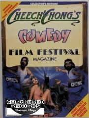 Vintage 1982 Cheech & Chong's Comedy Film Festival Magazine Issue No. 1 RARE
