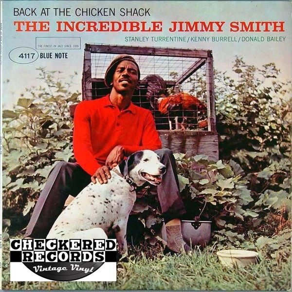 The Incredible Jimmy Smith Back At The Chicken Shack First Year Pressing MONO 1963 US Blue Note ‎BLP 4117 Vintage Vinyl Record Album