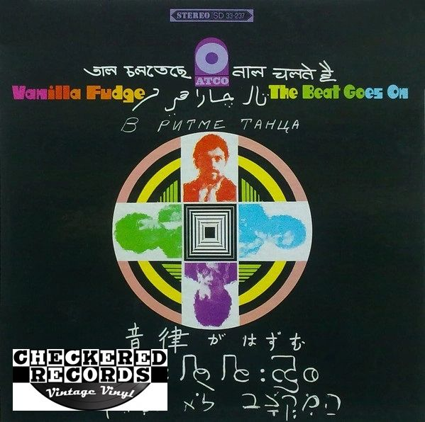 Vanilla Fudge The Beat Goes On First Year Pressing 1968 US ATCO Records SD 33-237 Vintage Vinyl Record Album