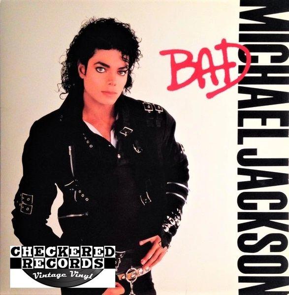 Michael Jackson Bad First Year Pressing 1987 US Epic E 40600 Vintage Vinyl Record Album