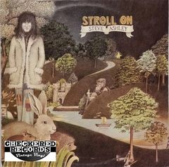 Steve Ashley Stroll On First Year Pressing 1974 UK Gull GULP 1003 Vintage Vinyl Record Album