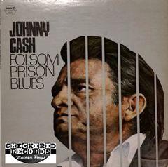 Johnny Cash Folsom Prison Blues 1979 US Hilltop JS-6114 Vintage Vinyl Record Album