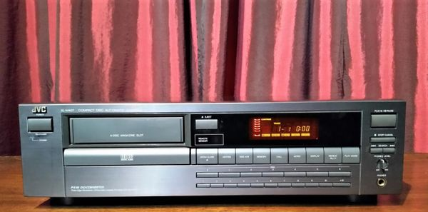 Vintage 1992 JVC XL-M407TN Compact Disc CD Player