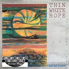 Thin White Rope ‎Sack Full Of Silver First Year Pressing 1990 US Frontier Records 9994-1-R Vintage Vinyl Record Album