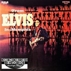 Elvis Presley From Elvis In Memphis First Year Pressing 1969 US RCA Victor LSP-4155 Vintage Vinyl Record Album