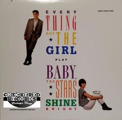 Everything But The Girl ‎Baby The Stars Shine Bright First Year Pressing 1986 US Sire 1-25494 Vintage Vinyl Record Album