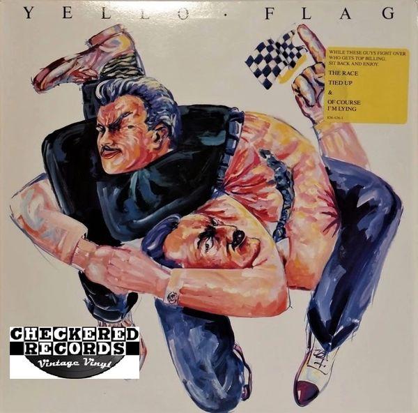 Yello Flag First Year Pressing 1989 US Mercury 422 836 426-1 Vintage Vinyl Record Album