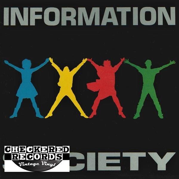 Information Society Information Society First Year Pressing 1988 US Tommy Boy TBLP 25691 Vintage Vinyl Record Album
