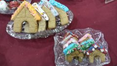Gingerbread Doghouses - wheat free