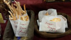 Sweet Potato Fries & Chips