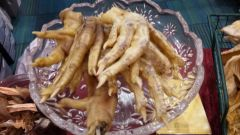 Chicken or Duck Feet--Raw--Dehydrated