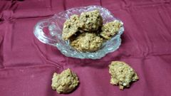 Apple Peanut Butter Drops with Green Beans &Oatmeal