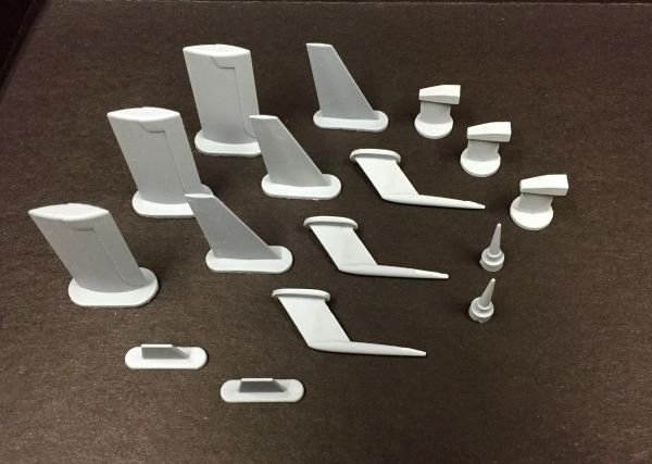 F-15 Scale Detail Parts Set - 1/7 Scale
